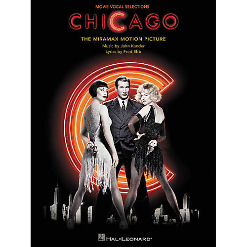 Hal Leonard Chicago Movie Vocal Selections Piano/Vocal/Guitar Songbook