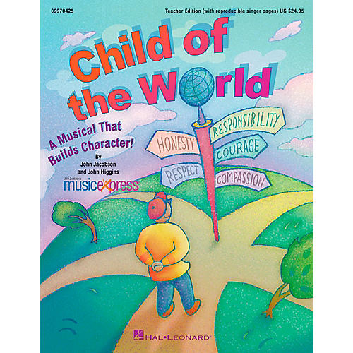 Hal Leonard Child Of The World - A Musical That Builds Character!  Musical Classroom Kit-thumbnail