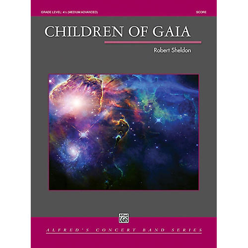 Alfred Children of Gaia Concert Band Grade 4.5-thumbnail