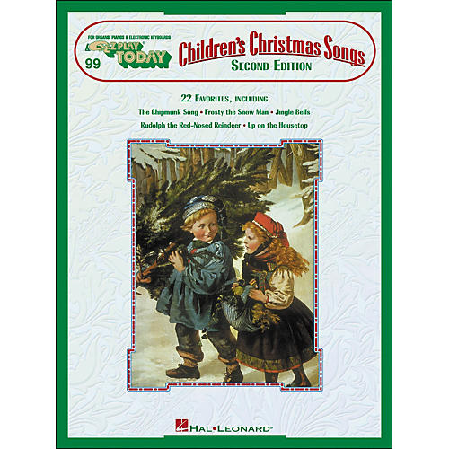 Hal Leonard Children's Christmas Songs 2nd Edition E-Z Play 99-thumbnail