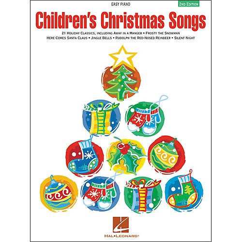 Hal Leonard Children's Christmas Songs For Easy Piano 2nd Edition-thumbnail