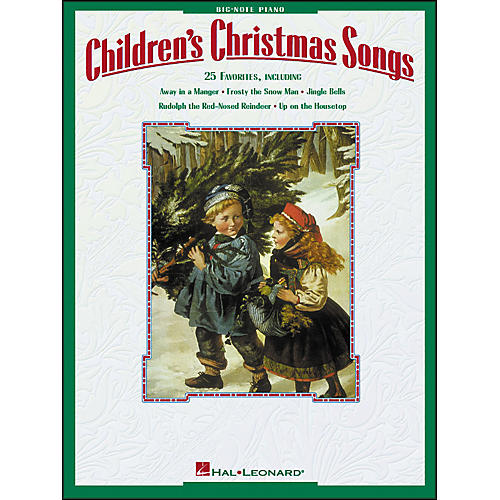 Hal Leonard Children's Christmas Songs for Big Note Piano-thumbnail