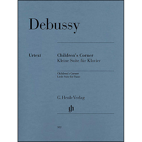 G. Henle Verlag Children's Corner Little Suite for Piano By Debussy-thumbnail