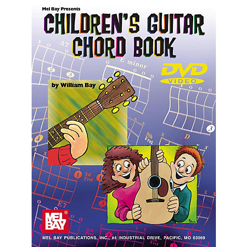Mel Bay Childrens Guitar Chord Book & DVD