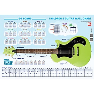Mel Bay Childrens Guitar Wall Chart