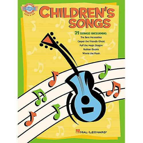 Hal Leonard Children's Songs Fingerstyle Guitar Book-thumbnail