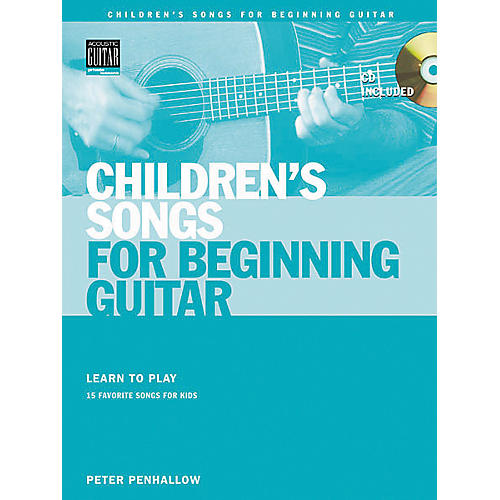 String Letter Publishing Children's Songs for Beginning Guitar (Book/CD)