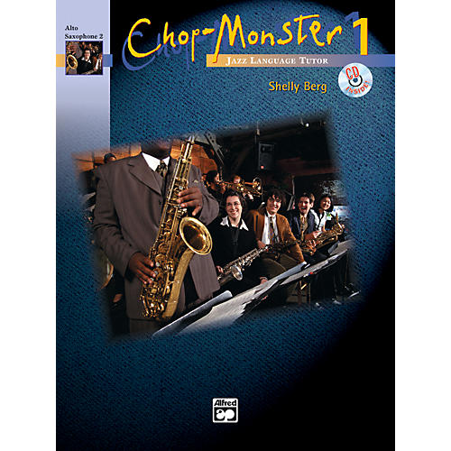 Alfred Chop-Monster Book 1 Alto Saxophone 2 Book & CD-thumbnail
