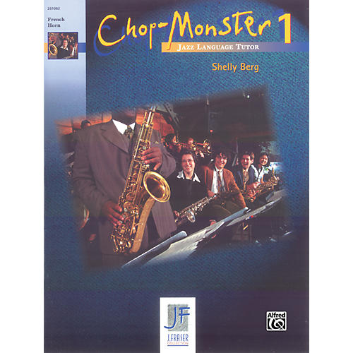 Alfred Chop-Monster Book 1 French Horn Book
