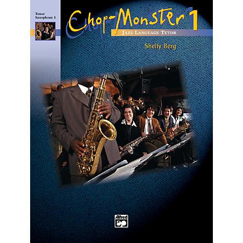 Alfred Chop-Monster Book 1 Guitar Book & CD