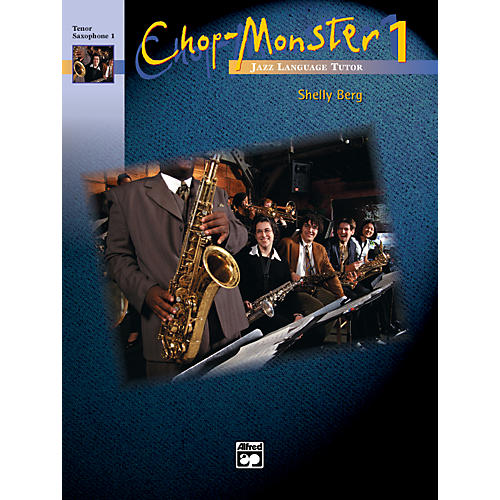 Alfred Chop-Monster Book 1 Tenor Saxophone 1 Book-thumbnail