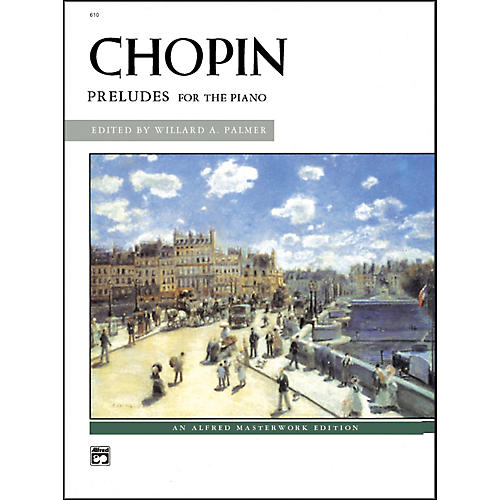Alfred Chopin Preludes Intermediate/Early Advanced Piano-thumbnail