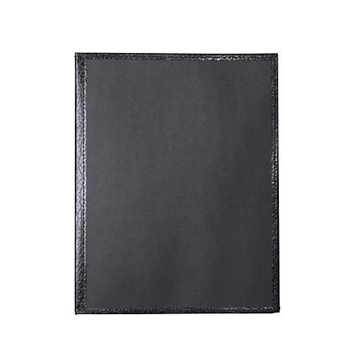 Deer River Choral Economy Folder with Bottom Pocket Black