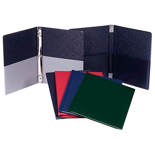 Marlo Plastics Choral Folder 9-1/4 x 12 with 7 Elastic Stays and 2 Expanded Horizontal Pockets-thumbnail