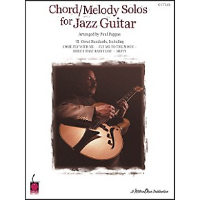 cherry lane chord melody solos for jazz guitar book guitar center