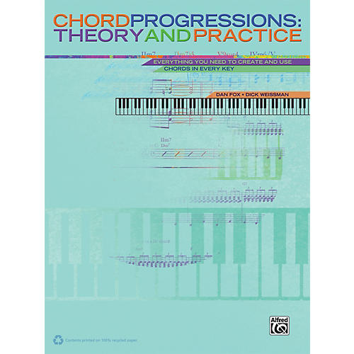 Alfred Chord Progressions Theory and Practice Book-thumbnail