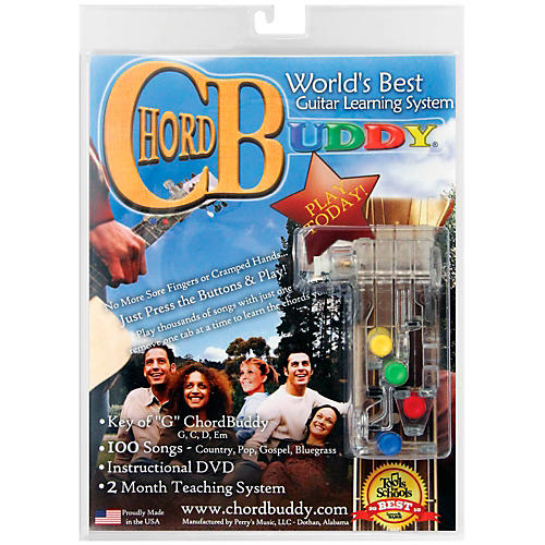 Perri's ChordBuddy - Guitar Learning System includes ChordBuddy, Method Book, DVD and Songbook-thumbnail