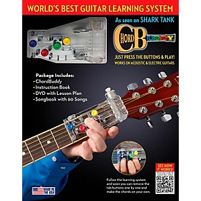 perry 39 s music chordbuddy guitar learning system gc exclusive book dvd poster guitar center. Black Bedroom Furniture Sets. Home Design Ideas