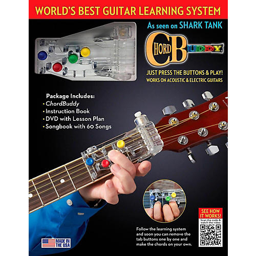 Perry's Music ChordBuddy Guitar Learning System GC Exclusive Book/DVD/Poster