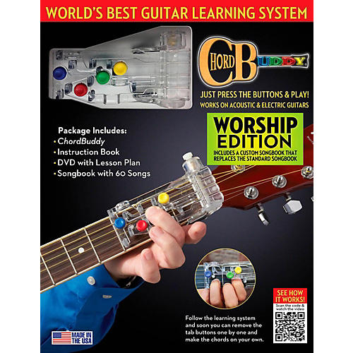 Perry's Music ChordBuddy Guitar Learning System  Worship Edition-thumbnail