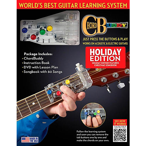 Hal Leonard ChordBuddy Holiday Guitar Learning System-thumbnail