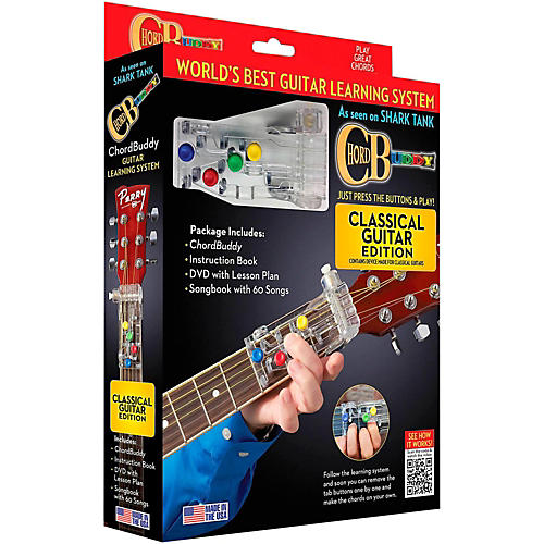 Hal Leonard Chordbuddy Classical Guitar Learning System