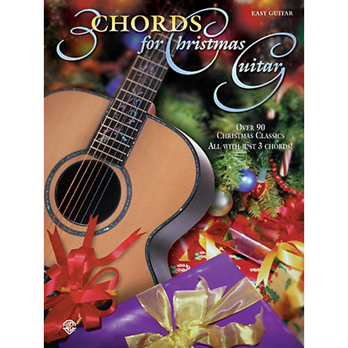Alfred Chords for Christmas Guitar Easy Guitar Book-thumbnail