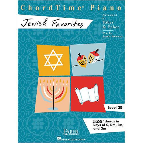 Faber Piano Adventures Chordtime Jewish Favorites - Faber Piano