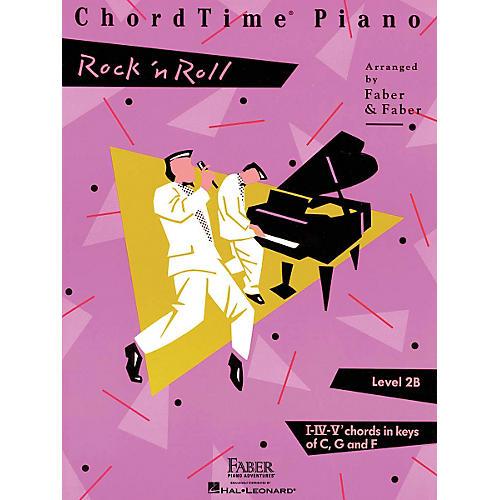 Faber Piano Adventures Chordtime Piano - Level 2B Rock 'N' Roll Faber Piano Adventures Series-thumbnail