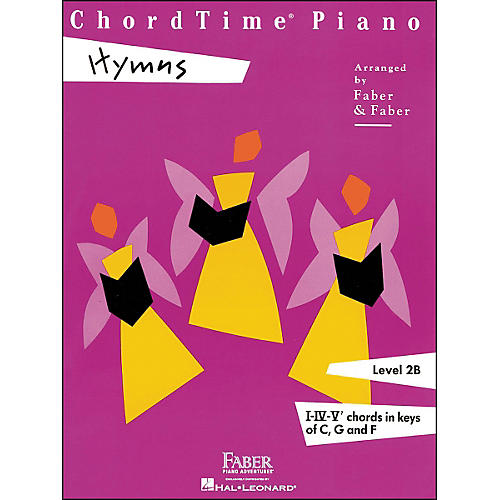 Faber Piano Adventures Chordtime Piano Hymns Book Level 2B Chords In Keys C, G, And F - Faber Piano-thumbnail