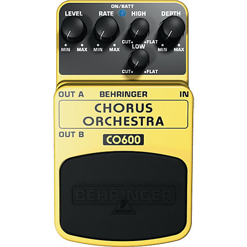 Behringer Chorus Orchestra CO600 Guitar Effects Pedal-thumbnail