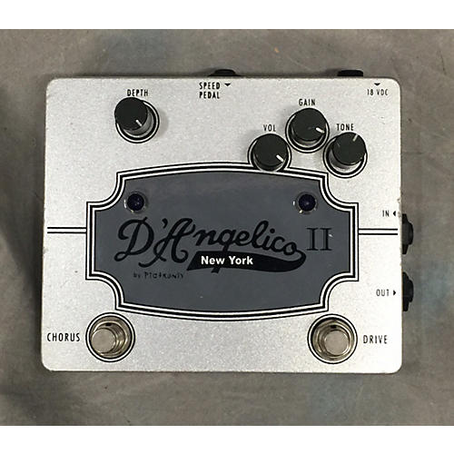 D'Angelico Chorus/drive Effect Pedal