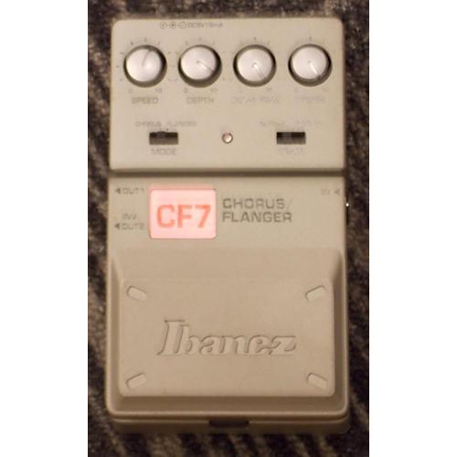 Ibanez Chorus/flanger Cf7 Effect Pedal-thumbnail