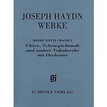 G. Henle Verlag Choruses, Incidental Music and Other Vocal Works with Orchestra Henle Edition by Haydn Edited by Dack