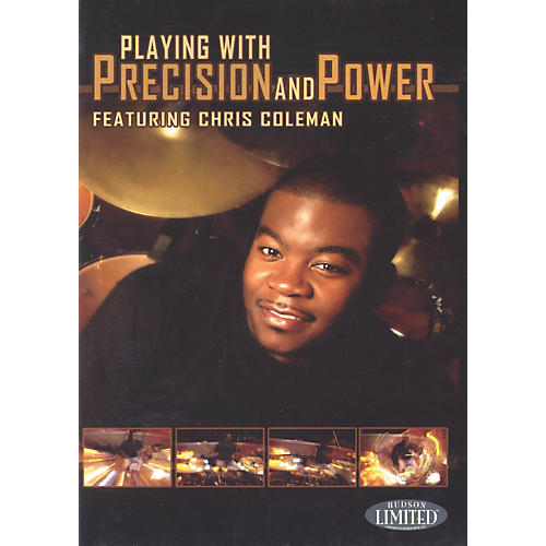 Hudson Music Chris Coleman Playing with Precision and Power DVD-thumbnail