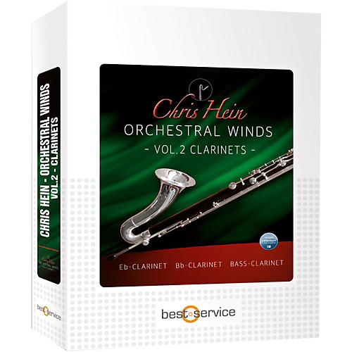 Best Service Chris Hein Orchestral Winds Vol 2 - Clarinet-thumbnail
