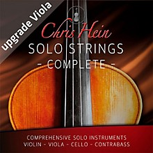 Best Service Chris Hein Solo Strings Complete Upgrade from Viola