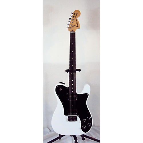 used fender chris shiflett telecaster deluxe solid body electric guitar alpine white guitar center. Black Bedroom Furniture Sets. Home Design Ideas