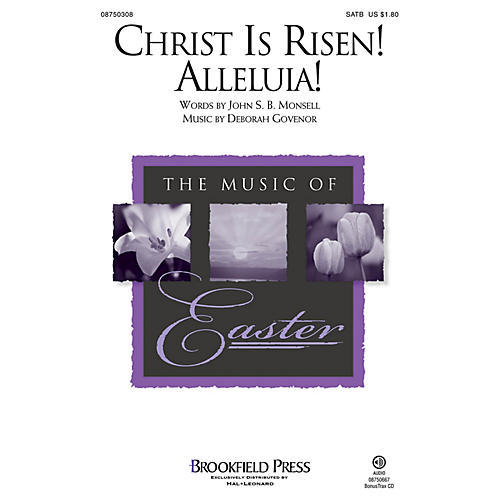 Brookfield Christ Is Risen! Alleluia! SATB composed by Deborah Governor