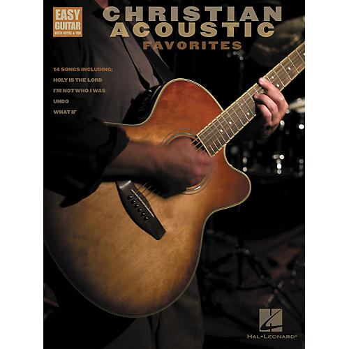 Hal Leonard Christian Acoustic Favorites Songbook w/Tab-thumbnail