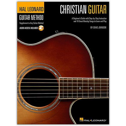 Hal Leonard Christian Guitar Method (Book/Online Audio)-thumbnail