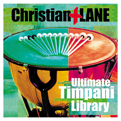 Tascam Christian/Lane: Ultimate Timpani Giga CD Set-thumbnail