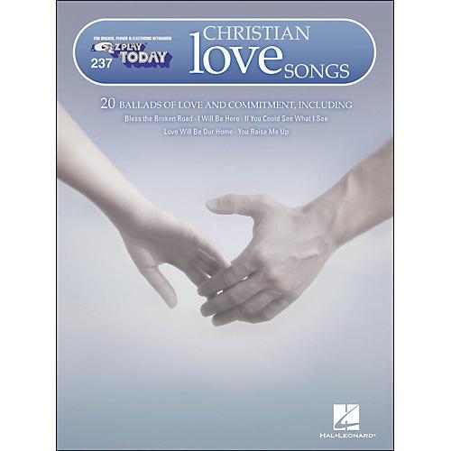 Hal Leonard Christian Love Songs E-Z Play 237-thumbnail