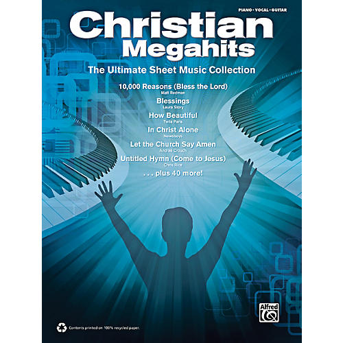 Alfred Christian Megahits: The Ultimate Sheet Music Collection P/V/G Book-thumbnail