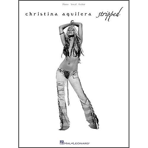 Hal Leonard Christina Aguilera - Stripped Book-thumbnail