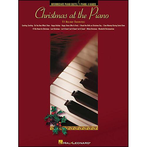 Hal Leonard Christmas At The Piano - 11 Holiday Favorites for Piano Duet 1 Piano, 4 Hands-thumbnail
