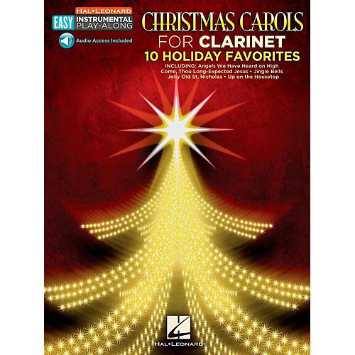 Hal Leonard Christmas Carols - Clarinet - Easy Instrumental Play-Along (Audio Online)