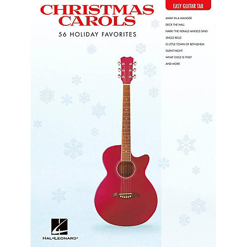 Hal Leonard Christmas Carols - Easy Guitar Tab-thumbnail