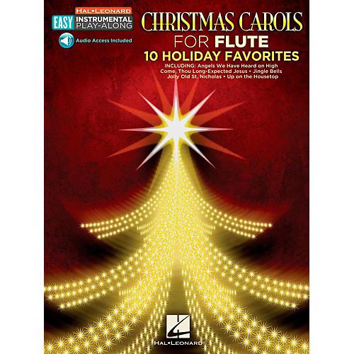 Hal Leonard Christmas Carols - Flute - Easy Instrumental Play-Along (Audio Online)-thumbnail