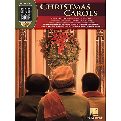 Hal Leonard Christmas Carols - Sing with The Choir Series Vol. 13 Book/CD